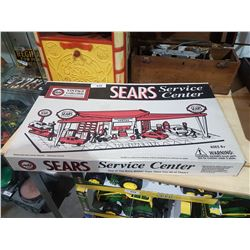 VINTAGE SEARS SERVICE STATION TOY