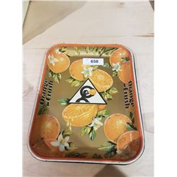 1930'S ORANGE CRUSH SERVING TRAY