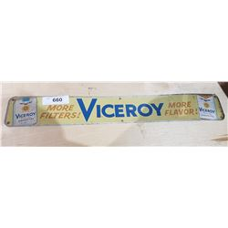VICEROY TOBACCO SIGN