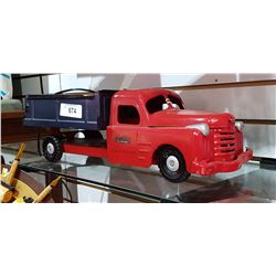 STRUTCO STAMPED STEEL TOY TRUCK