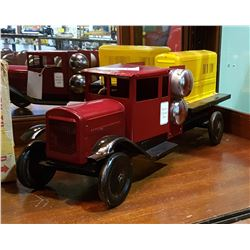 1920'S STAMPED STEEL TOY TRUCK