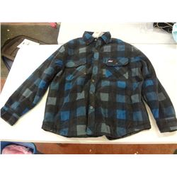 New Size XL Blue Checkered Sweater