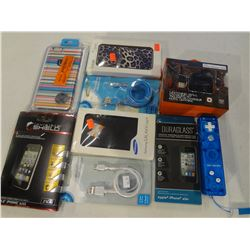 Wii Remote, 2n1 Lightening Charger, 2 Micro USB Cables