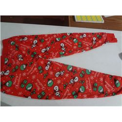 New 2xl Snowman Pj Pant