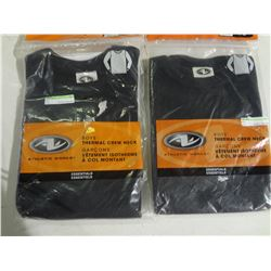 New Lot of 2 Boys size 4/5 Thermal Crew Neck Shirts