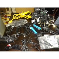 60 Pcs Assorted Electronic items