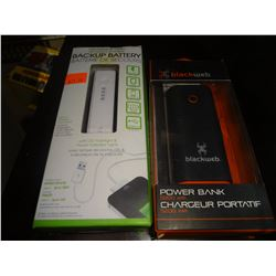 Lot of 2 Power Banks
