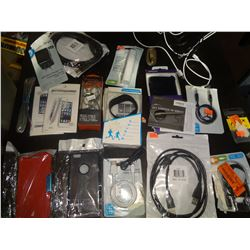 20 Pieces Assorted Electronics