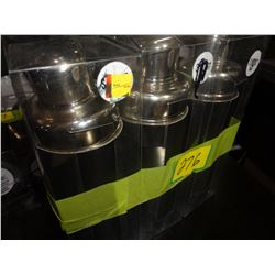 Lot of 3 New Cocktail Shakers