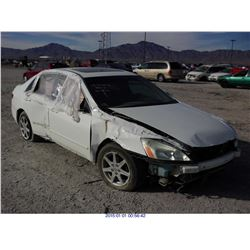 2004 - HONDA ACCORD EX // REBUILT SALVAGE