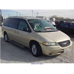 1999 - CHRYSLER TOWN AND COUNTRY