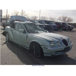 2001 - JAGUAR S-TYPE