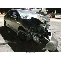 2008 - HONDA CIVIC // REBUILT SALVAGE