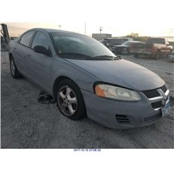 2006 - DODGE STRATUS // REBUILT SALVAGE