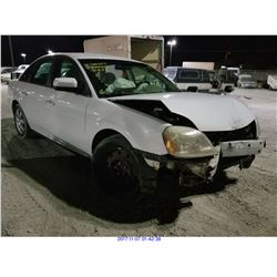 2006 - FORD FIVE HUNDRED // SALVAGE TITLE