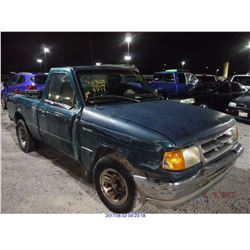 1997 - FORD RANGER // SALVAGE TITLE