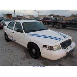 2011 - FORD CROWN VICTORIA // TX TITLE