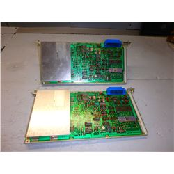 FANUC *LOT OF 2* A87L-0001-0017 CIRCUIT BOARDS