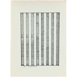 Angus Martin 1921-2004 Abstract Vertical Lines