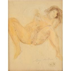 François Auguste Rodin French 1840-1917 Nude