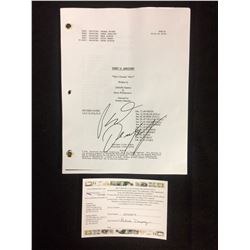 "PATRICK DEMPSEY AUTOGRAPHED GREY'S ANATOMY FINAL DRAFT SCRIPT ""WHO'S ZOOMIN' WHO?"""