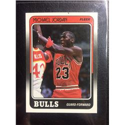 1988-89 FLEER (17 OF 132) MICHAEL JORDAN