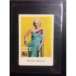 MARILYN MONROE 20TH CENTURY FOX CARD (Early 1950's)