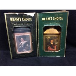BEAM'S CHOICE KENTUCKY BOURBON WHISKEY DECANTERS RENAISSANCE PERIOD LOT