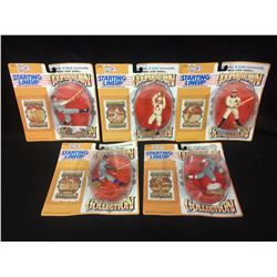 STARTING LINEUP COOPERSTOWN COLLECTION BASEBALL FIGURES LOT (IN BOXES)