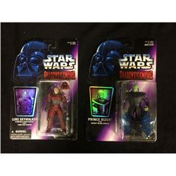 STAR WARS ACTION FIGURE LOT (IN BOXES) LUKE SKYWALKER & PRINCE XIZOR