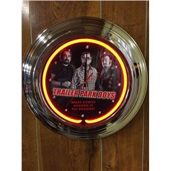 NEON WALL CLOCK (TRAILER PARK BOYS)