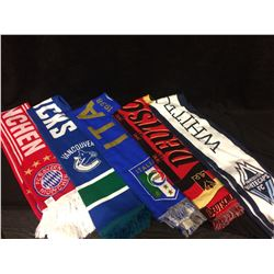 SPORTS TEAMS SCARVES LOT
