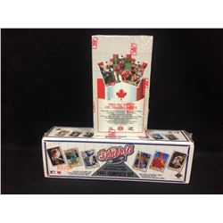 1992 ALL WORLD CFL & 1991 BASEBALL EDITION TRADING CARDS SETS