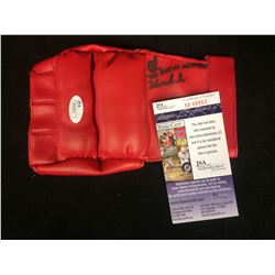 "Chris Horowecki ""THE POLISH HAMMER"" AUTOGRAPHED MMA GLOVE W/ JSA COA"