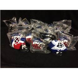 MCDONALDS MINI GOALIE HELMETS LOT (BRAND NEW)