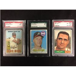 PSA HIGH GRADED BASEBALL CARD LOT