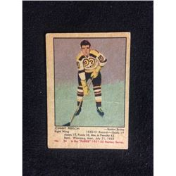 1951-52 Parkhurst #34 Johnny Peirson Rookie Card