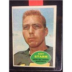 1960 Topps Football #51 Bart Starr HOF Green Bay Packers