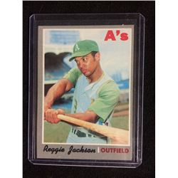 1970 Topps Reggie Jackson Oakland Athletics #140 Baseball Card
