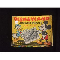VINTAGE DISNEYLAND JIG SAW PUZZLE (IN BOX)