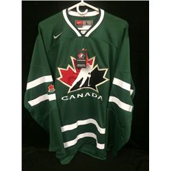 TEAM CANADA GREEN HOCKEY JERSEY