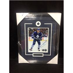 "JAMES VAN RIEMSDYK AUTOGRAPHED 16"" X 20"" FRAMED PHOTO (UNIVERSAL COA)"