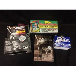 BASEBALL CARD SETS LOT