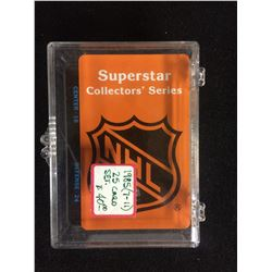 1985 (7-11) 25 HOCKEY CARDS SET (SUPERSTAR COLLECTOR'S SERIES)