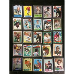 VINTAGE FOOTBALL TRADING CARD LOT