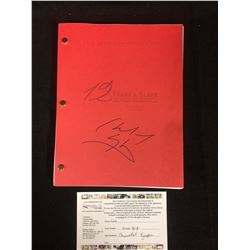 YEARS A SLAVE SCREENPLAY AUTOGRAPHED BY CHIWETEL EJIOFOR