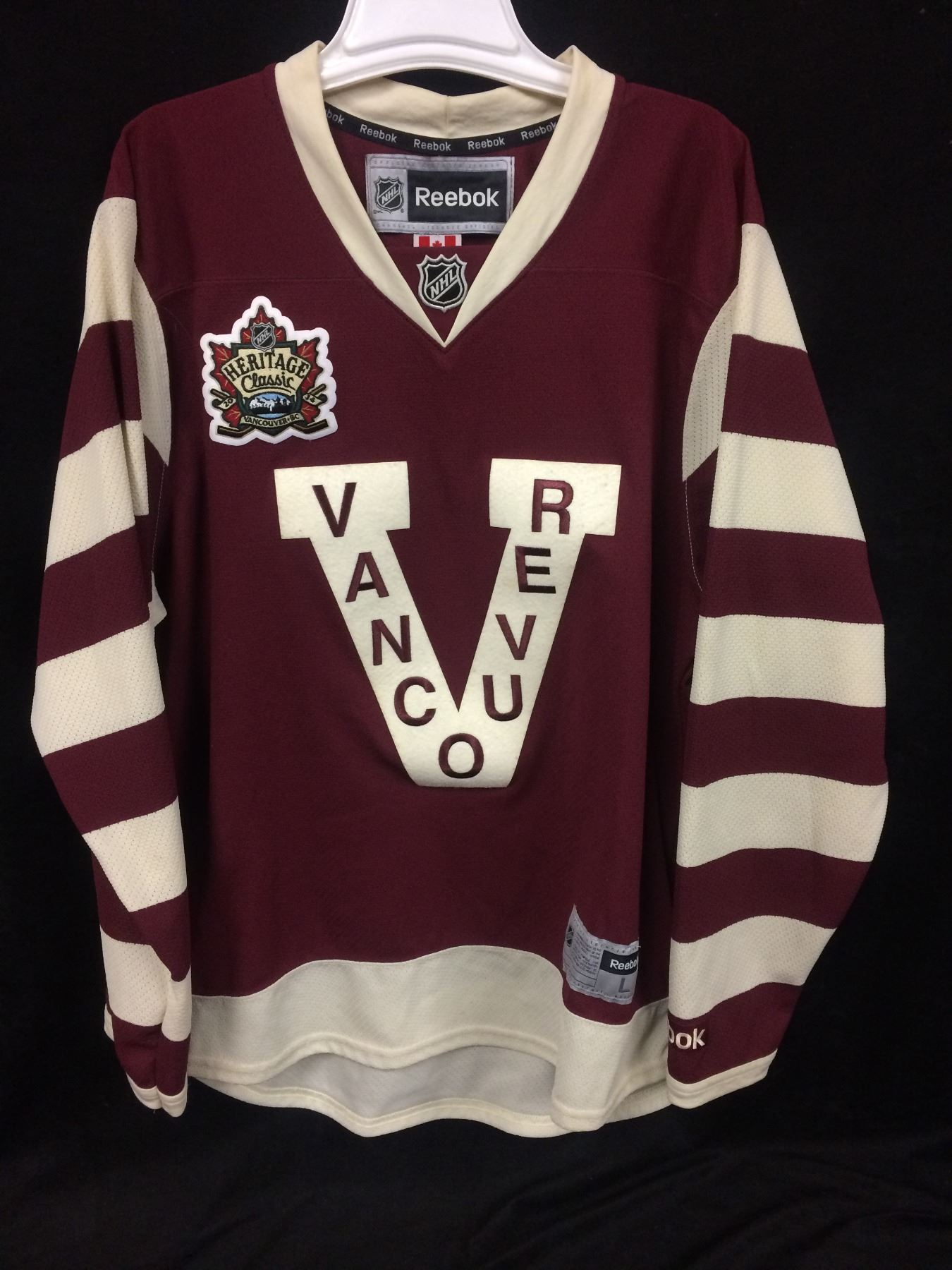 ... coupon for image 1 heritage classic vancouver canucks hockey jersey  size large 0a7de bf2aa 643b53715
