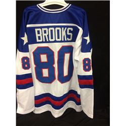 HERB BROOKS TEAM USA HOCKEY JERSEY (SIZE 2 XL)