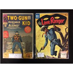 1964 #75 TWO-GUN KID & 1955 #87 LONE RANGER COMIC BOOK LOT