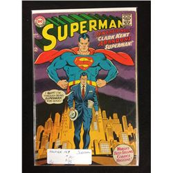 1967 SUPERMAN #201 (DC COMICS)